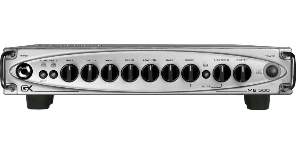 Gallien-Krueger MB-500 500W Ultra Light Bass Amp Head