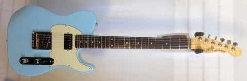 G&L USA ASAT Classic Bluesboy RW Sonic Blue 7.9 lbs with Hardshell Case