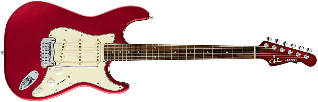G&L Tribute Legacy RW Candy Apple Red