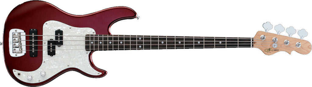 G&L Tribute SB-2 RW Bordeaux Red Metallic