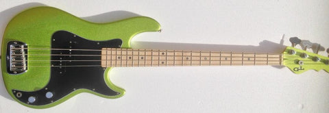 G&L USA LB-100 Margarita Metallic MP Bass Guitar