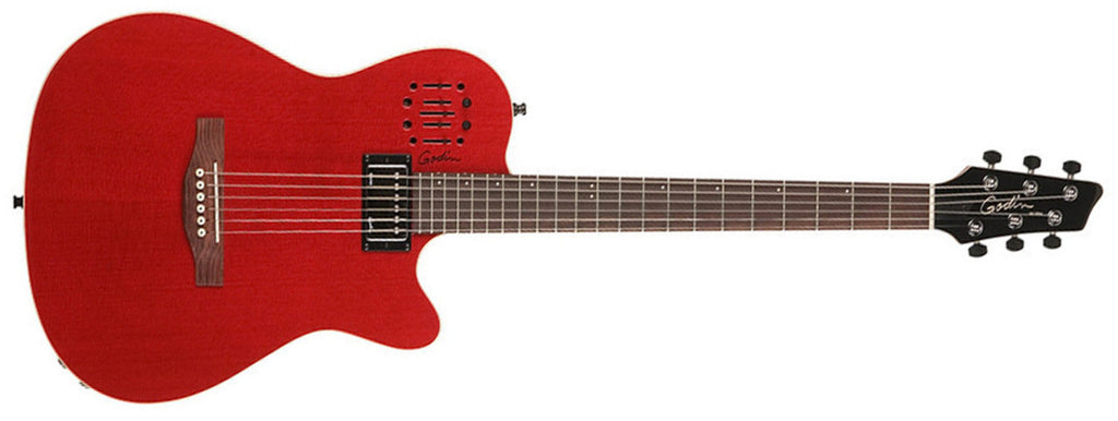 Godin A6 Ultra Trans Red
