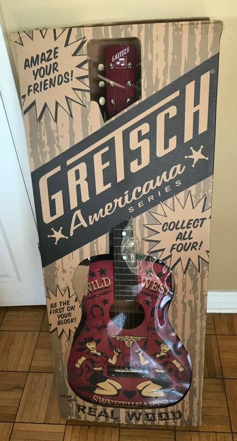 Gretsch G4530 Americana LTD Wild West Sweethearts Acoustic Guitar