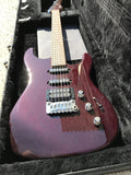 G&L USA Legacy HSS RMC Ruby Red Metallic RW 8.4 lbs with Hardshell Case