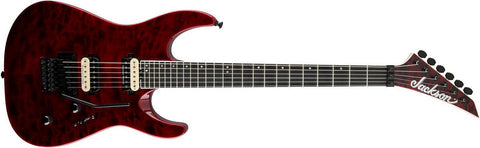 Jackson Pro Dinky DK2Q Trans Red