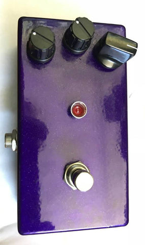 LovePedal Purple Plexi 800 Prototype Distortion Overdrive Effect Pedal