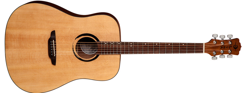 Luna Wabi Sabi Dreadnought Solid Spruce Top WABI D
