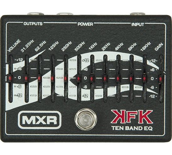 MXR KRK-1 Kerry King 10 Band Equalizer EQ Pedal