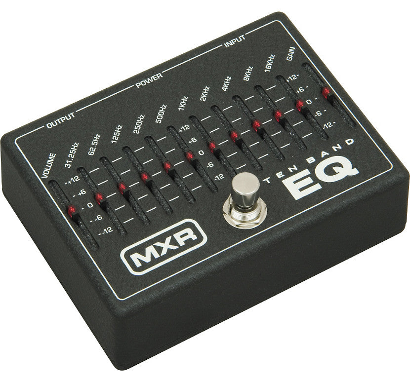 MXR M108 10 Band Graphic Equalizer EQ Pedal