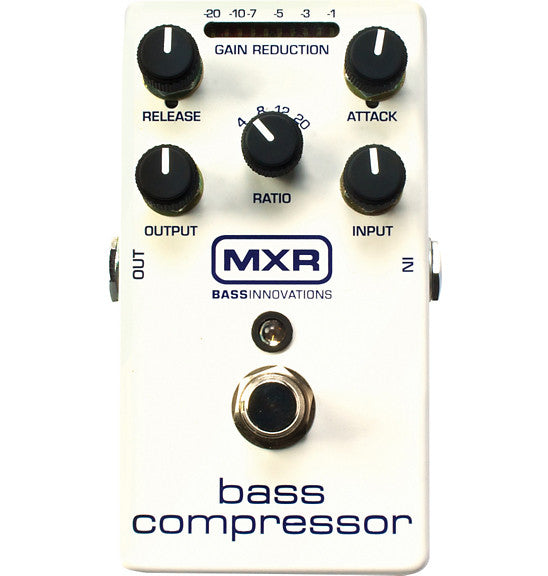 MXR M87 Bass Compressor Effect Pedal