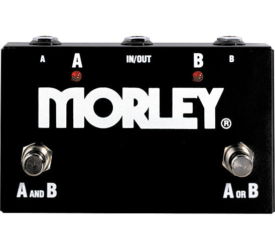 Morley ABY Box Channel Switcher Guitar Effects Pedal