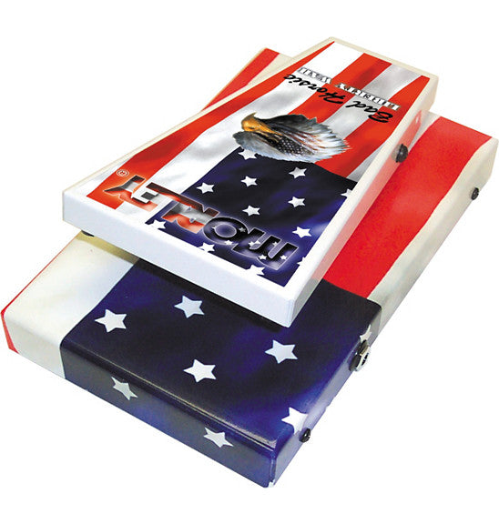 Morley Steve Vai Bad Horsie Liberty Wah American Flag Guitar Effects Pedal
