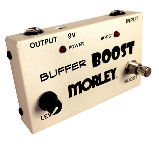 Morley Buffer Boost Guitar Effects Pedal