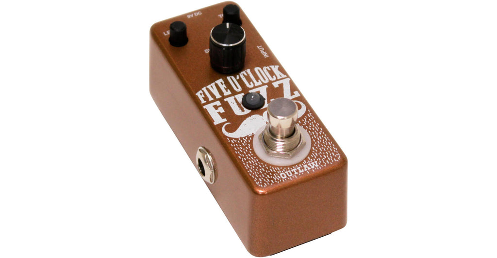 Outlaw Effects Five O'Clock Fuzz Guitar Pedal
