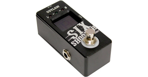 Outlaw Effects Six Shooter Tuner Pedal