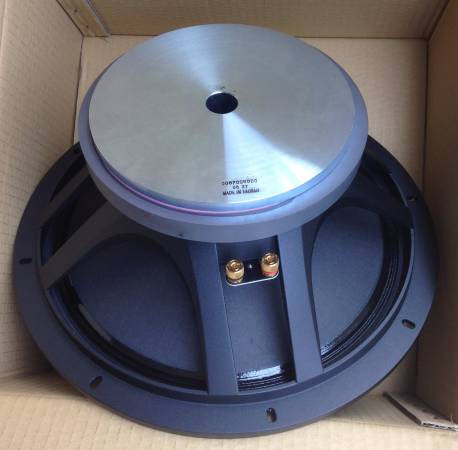 "SWR 4 ohm 400 Watt 15"" Speaker NEW in Box for Black Beauty Combo Amp"