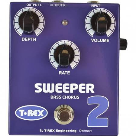 T-Rex Engineering Sweeper 2 Bass Chorus Bass and Guitar Effects Pedal