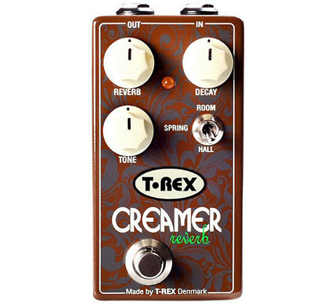T-Rex Engineering Creamer 3-Mode Reverb Guitar Effects Pedal