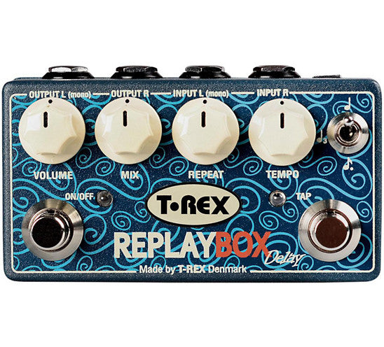 T-Rex Engineering Replay Box Stereo Delay Guitar Effects Pedal