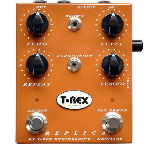T-Rex Engineering Replica Delay / Echo Guitar Effects Pedal