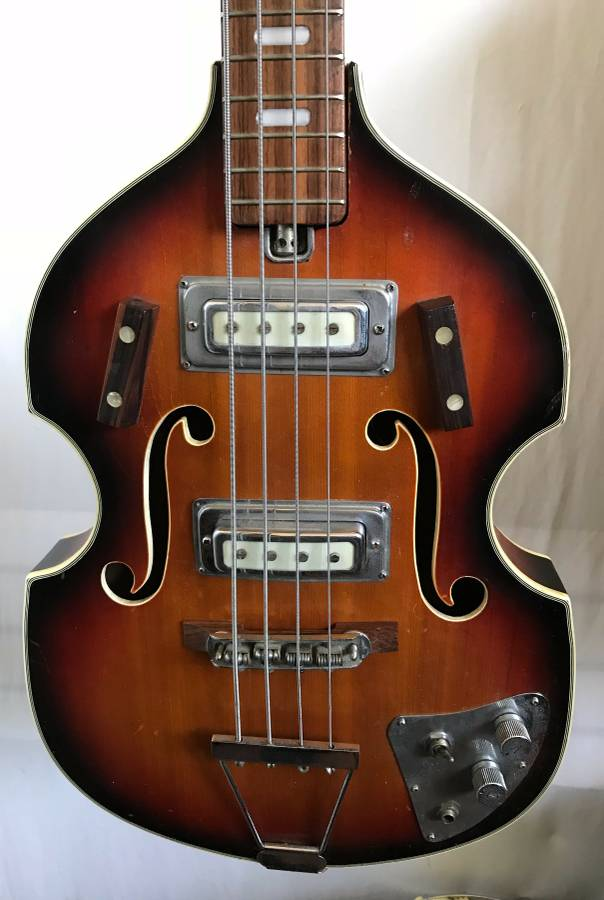 Univox Violin Bass Vox Beatles Bass Guitar Japan Kay Harmony Tiesco