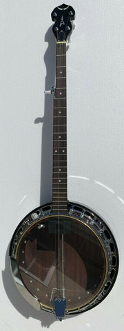 DEAN Backwoods BW2E PRO 5-string Electric Resonator Banjo NEW - Brass Tone Ring
