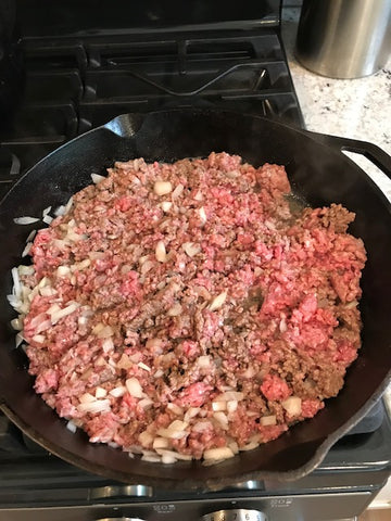 Hamburger casserole 1