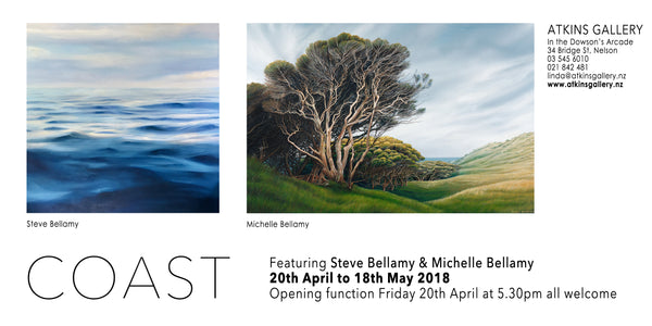 COAST Exhibition | Atkins Gallery