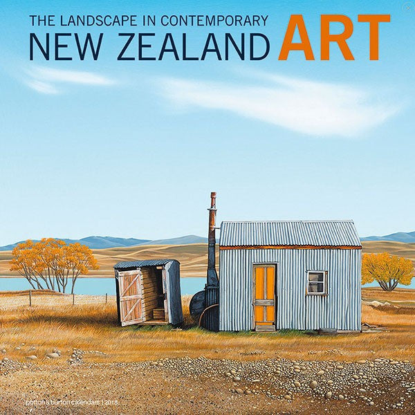 2018 The Landscape in Contemporary New Zealand Art Calendar