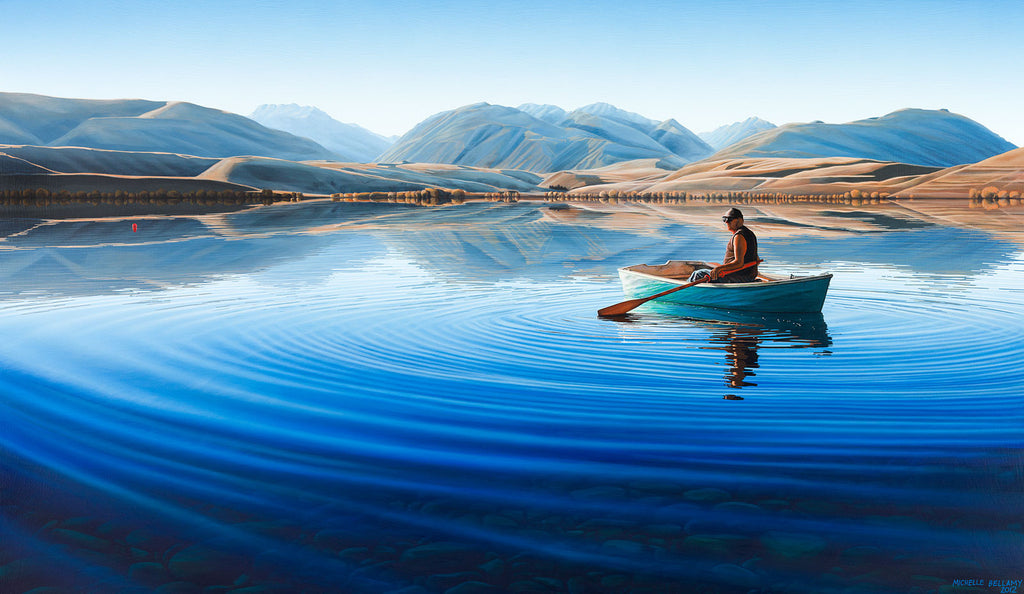 Lake Alexandrina Fisherman