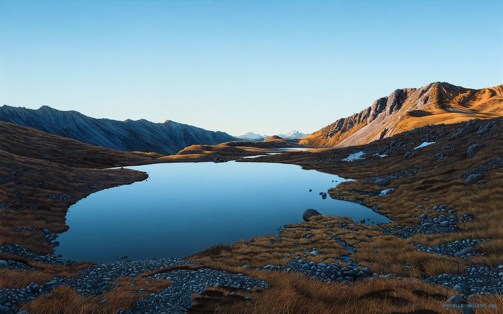 Sunrise at the Paratītahi Tarns