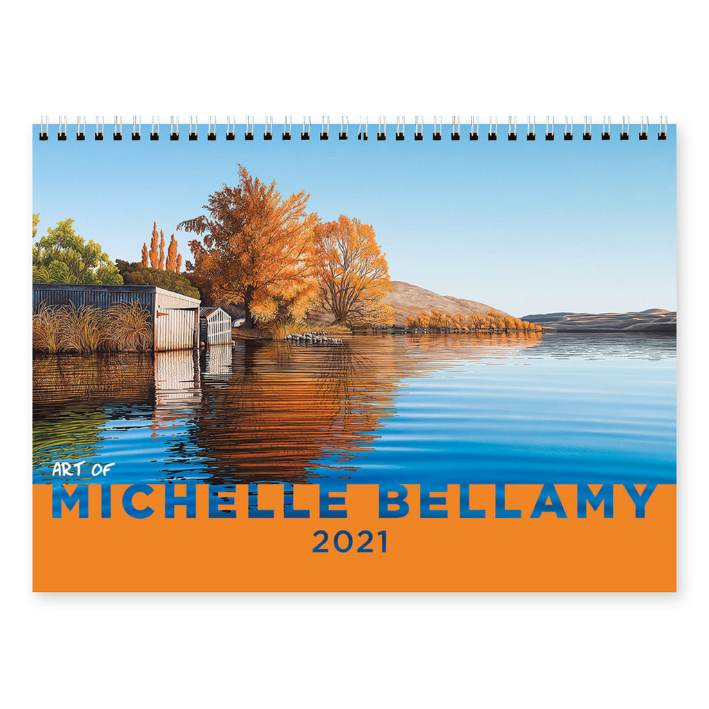 2021 Art of Michelle Bellamy Calendar