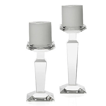 Pointe Crystal Candleholder