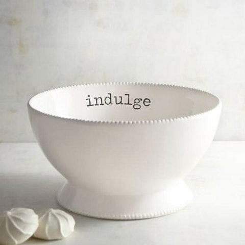 Indulge Ceramic Serving Bowl