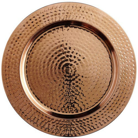 Copper Melamine Charger