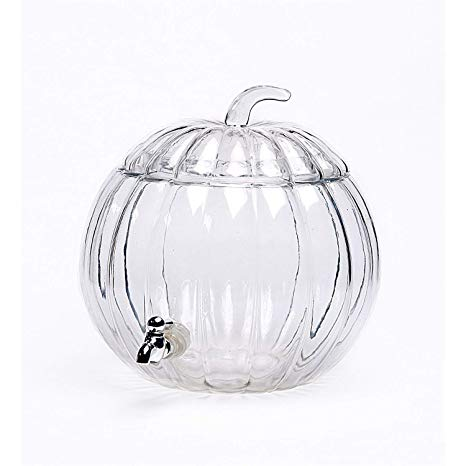 Crystal Glass Pumpkin Drink Dispenser