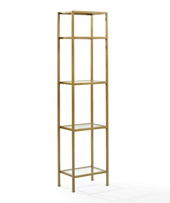Buchanan Etegere Gold Shelf
