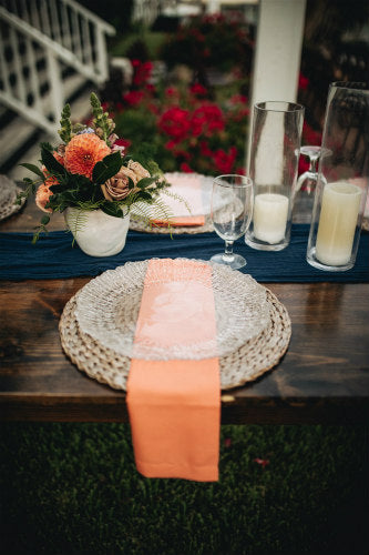 Dusty Coral Linen Napkin