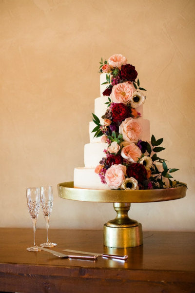 Fuse Gold Pedestal Cake Stand