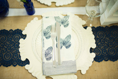 Tribal Butterfly Linen Napkin