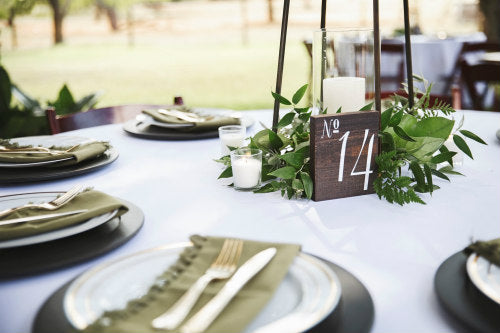Wood Sawyer Table Number