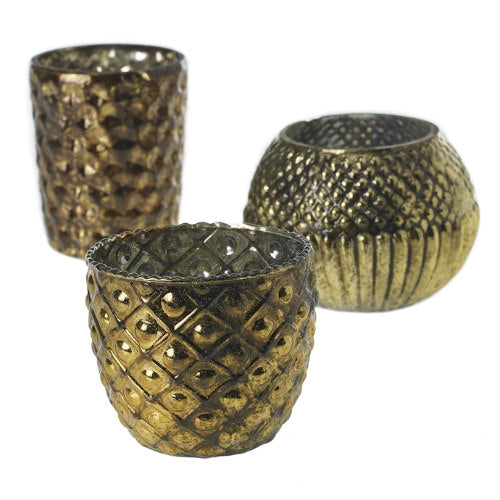 Assorted Gold Cobra Votive