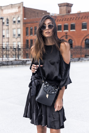 Lila Crossbody in Black