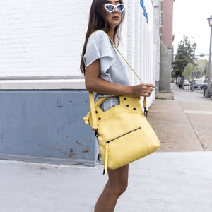 Enchanted Glasshouse FC Lady Tote in Lemon