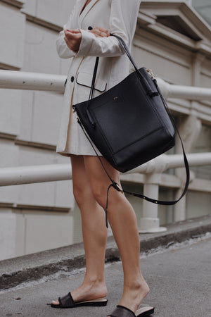 Diane Tote in Black