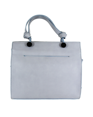 Anna Satchel in Poplin Blue