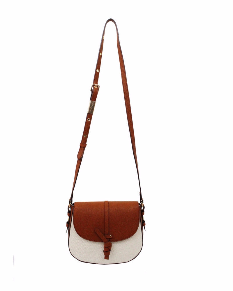COCONUT ISLAND LIBERATED LEATHER SADDLE IN NATURAL