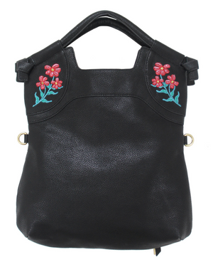 Flowerbed Creek FC Lady Tote in Black