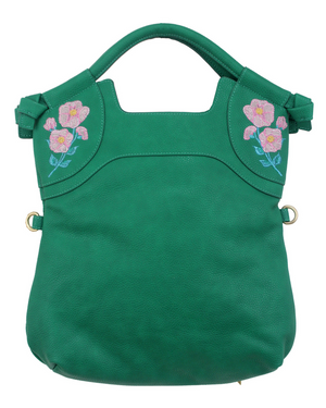 Flowerbed Creek FC Lady Tote in Green