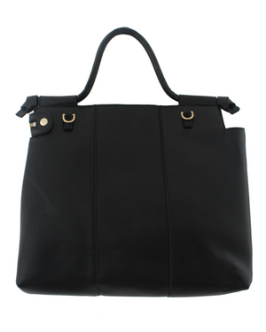 Lione Satchel in Black